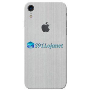 iPhone XR Adesivo Skin Metal Aluminio