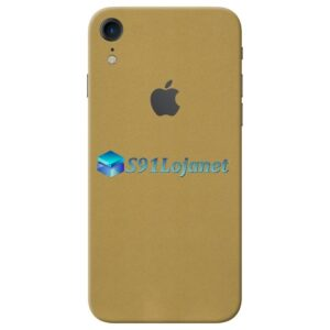 iPhone XR Adesivo Skin Metal Gold Ouro
