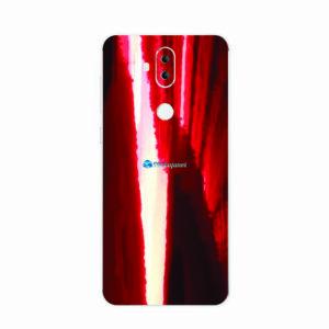 ASUS ZenFone 5 Selfie Pro Adesivo Skin Metal Gold Red