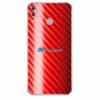 ASUS ZenFone 5 Skin Adesivo Carbono Vermelho