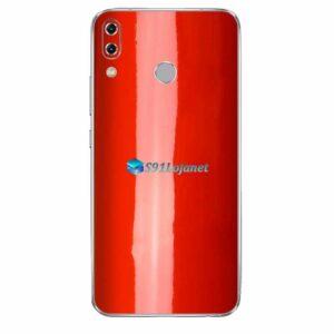 ASUS ZenFone 5 Skin Adesivo Cor Vermelho