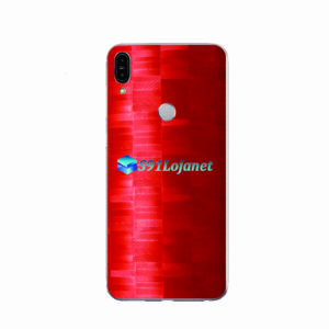 ASUS ZenFone Max (M1) Skin Adesivo FX Pixel Vermelho
