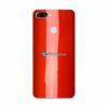 ASUS ZenFone Max Plus (M1) Adesivo Skin Cor Vermelho