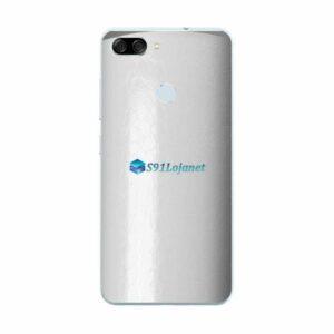ASUS ZenFone Max Plus (M1) Adesivo Skin FX Couro Branco