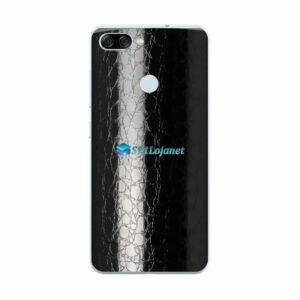 ASUS ZenFone Max Plus (M1) Adesivo Skin FX Couro Negro
