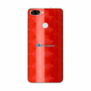ASUS ZenFone Max Plus (M1) Adesivo Skin FX Dimension Red
