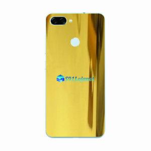 ASUS ZenFone Max Plus (M1) Adesivo Skin Metal Gold