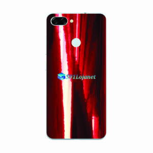 ASUS ZenFone Max Plus (M1) Adesivo Skin Metal Gold Red