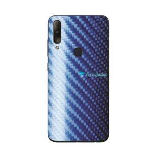 ASUS Zenfone Max Shot Skin Adesivo Película Carbono Azul