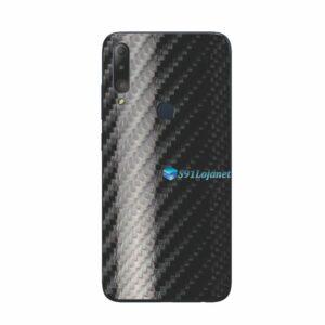 ASUS Zenfone Max Shot Skin Adesivo Película Carbono Preto