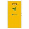 Razer Phone 2 Adesivo Traseiro Película Skin Carbono Amarelo