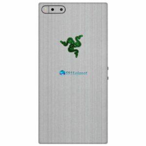 Razer Phone Adesivo Traseiro Película Skin Metal Escovado