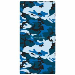 Razer Phone Adesivo Traseiro Skin Película Camo Azul