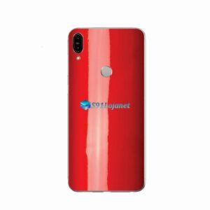 ZenFone Max Pro (M1) Skin Adesivo Cor Vermelho