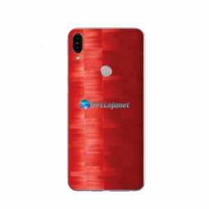 ZenFone Max Pro (M1) Skin Adesivo FX Pixel Vermelho