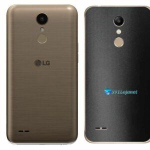 LG K10 Adesivo Traseiro Película FX Deep Black