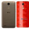 LG K10 Adesivo Traseiro Película FX Dimension Red