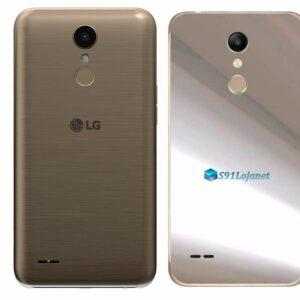 LG K10 Adesivo Traseiro Película Metal Cromo
