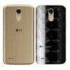 LG K10 Pro Adesivo Traseiro Película FX Dimension Black