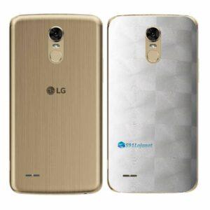 LG K10 Pro Adesivo Traseiro Película FX Dimension Branco