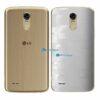 LG K10 Pro Adesivo Traseiro Película FX Pixel Branco