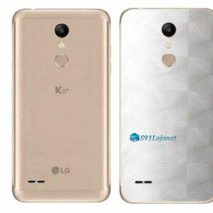 LG K11+ Adesivo Traseiro Película FX Dimension Branco