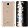 LG K11+ Adesivo Traseiro Película FX Pixel Black