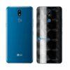 LG K12+ Adesivo Traseiro Película FX Dimension Black