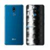 LG K12+ Adesivo Traseiro Película FX Pixel Black