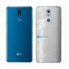 LG K12+ Adesivo Traseiro Película FX Pixel Branco