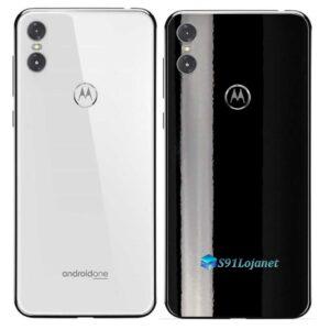 Motorola One Adesivo Traseiro Película Cor Black Piano