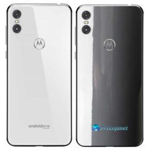 Motorola One Adesivo Traseiro Película Cor Cinza
