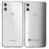 Motorola One Adesivo Traseiro Película FX Couro Branco