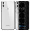 Motorola One Adesivo Traseiro Película FX Dimension Black