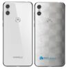 Motorola One Adesivo Traseiro Película FX Dimension Branco