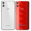 Motorola One Adesivo Traseiro Película FX Dimension Red