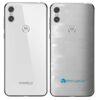 Motorola One Adesivo Traseiro Película FX Pixel Branco