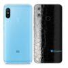 Redmi Note 6 Pro Adesivo Skin Película FX Couro Negro