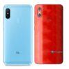 Redmi Note 6 Pro Adesivo Skin Película FX Dimension Red