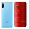 Redmi Note 6 Pro Adesivo Skin Película FX Pixel Vermelho