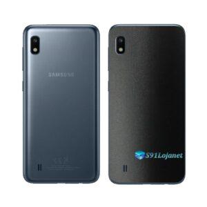 Galaxy A10 Adesivo Skin Película Tras FX Deep Black
