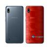 Galaxy A10 Adesivo Skin Película Tras FX Pixel Vermelho