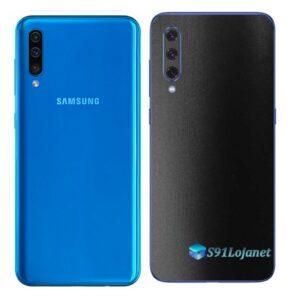 Galaxy A50 Adesivo Skin Película Tras FX Deep Black