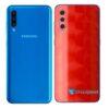 Galaxy A50 Adesivo Skin Película Tras FX Dimension Red