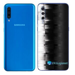 Galaxy A50 Adesivo Skin Película Tras FX Pixel Black