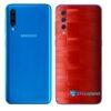 Galaxy A50 Adesivo Skin Película Tras FX Pixel Vermelho