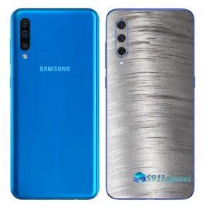 Galaxy A50 Adesivo Skin Película Tras Metal Escovado