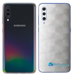 Galaxy A70 Adesivo Skin Película Tras FX Dimension Branco