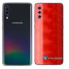 Galaxy A70 Adesivo Skin Película Tras FX Dimension Red