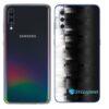 Galaxy A70 Adesivo Skin Película Tras FX Pixel Black